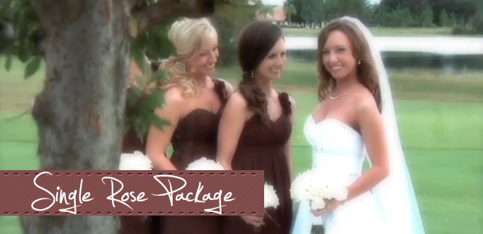 Single Rose Wedding Video Package